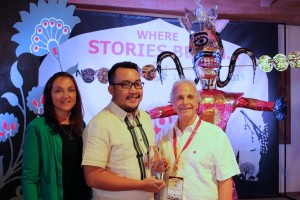 Joseph Conrad Rubio Receives World One Award